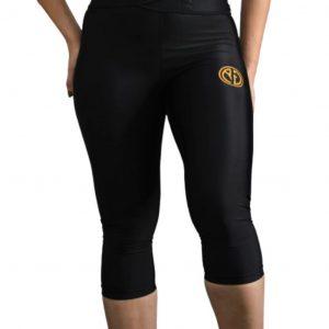 Resurrection Gear 3/4 Black Leggings Fitness Gym Apparel