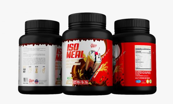 Berro Labs Iso Meal Replacement Whey Protein 1.1kg