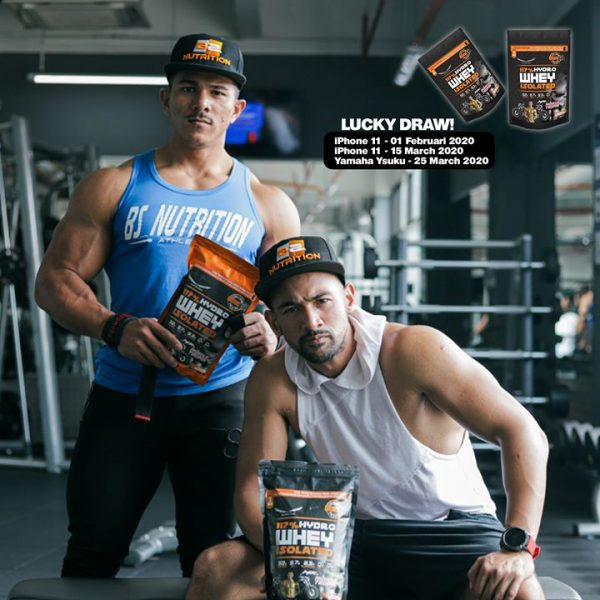 BS Nutrition Hydrowhey 1kg, 33 scoops