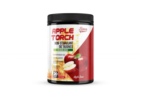 Berro Labs Apple Torch Non-Stimulant Fat Burner 200g Fitness Gym Supplement