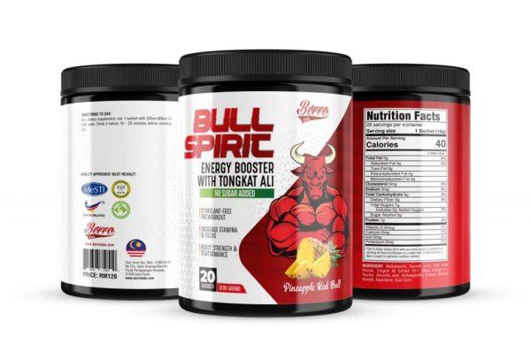 Berro Labs Bull Spirit Energy Booster 200g