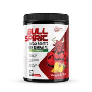 Berro Labs Bull Spirit Energy Booster 200g (20 servings) Preworkout,Fitness Gym Supplement