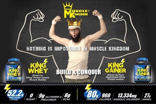 Muscle Kingdom King Whey 1.8 kg
