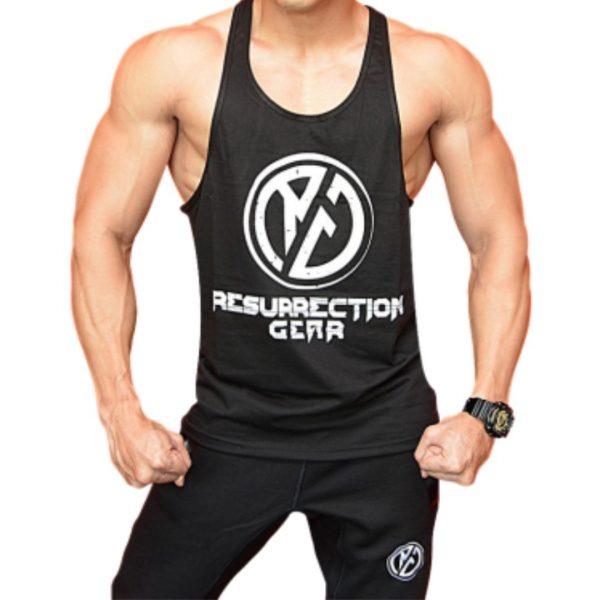 Resurrection Gear RG Logo Black Tank Top