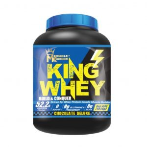 Muscle Kingdom King Whey 1.8 kg Whey Protein Halal Fitness Gym Supplement