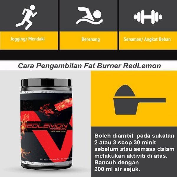BS Nutrition Redlemon Fireburn 300gram (Lemon Garcinia)