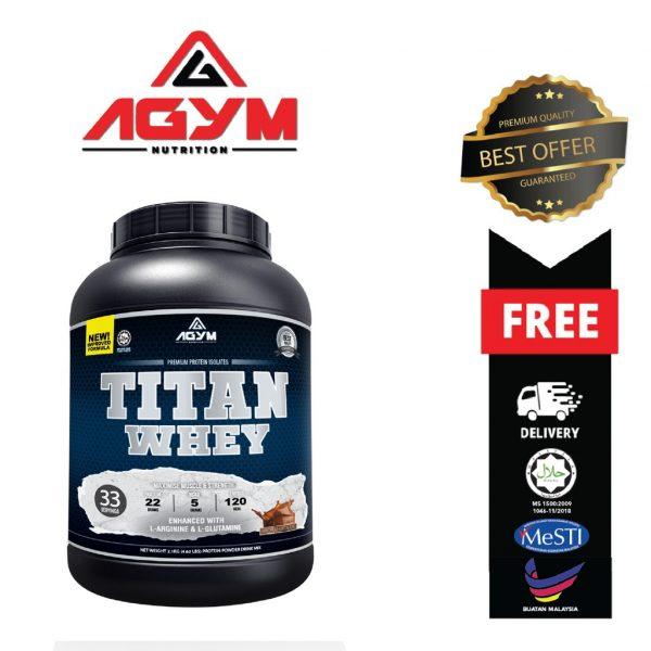 Agym Nutrition Titan Whey 2.1kg
