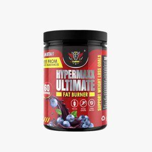 Power Mania HyperMaxx 300gram (Raspberry Blackcurrant) Fat Burner Pre Workout Fitness Gym Supplement