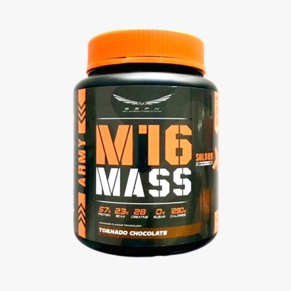 BS Nutrition M16 Mass Soldier X 1.5 kg, 50 scoops (Chocolate) Fitness Gym Supplement
