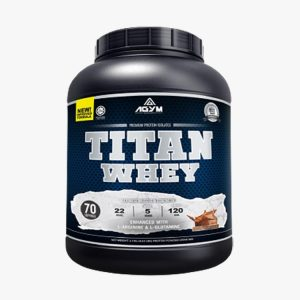 Agym Nutrition Titan Whey - Halal Whey Protein Powder (Halal certified, KKM approved, Fitness Gym Supplement)