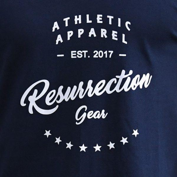Resurrection Gear Athletic Apparel Navy Blue Tank Top
