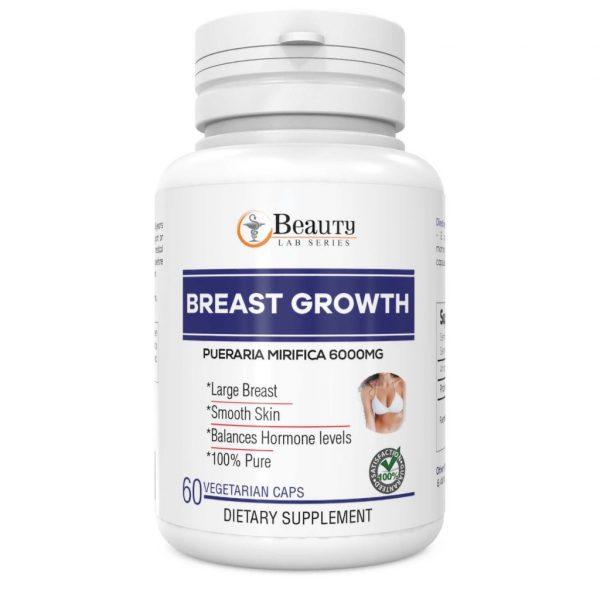 Beauty Lab Series Breast Growth (6000mg) - 60 Vegetarian Capsules