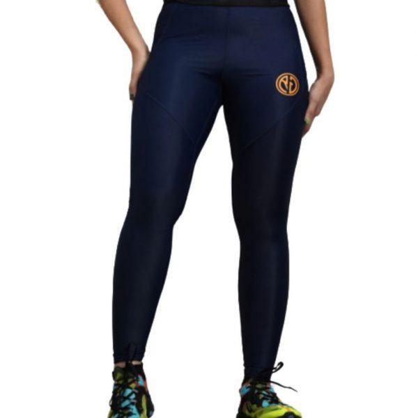 Resurrection Gear Navy Blue Leggings Fitness Gym Apparel