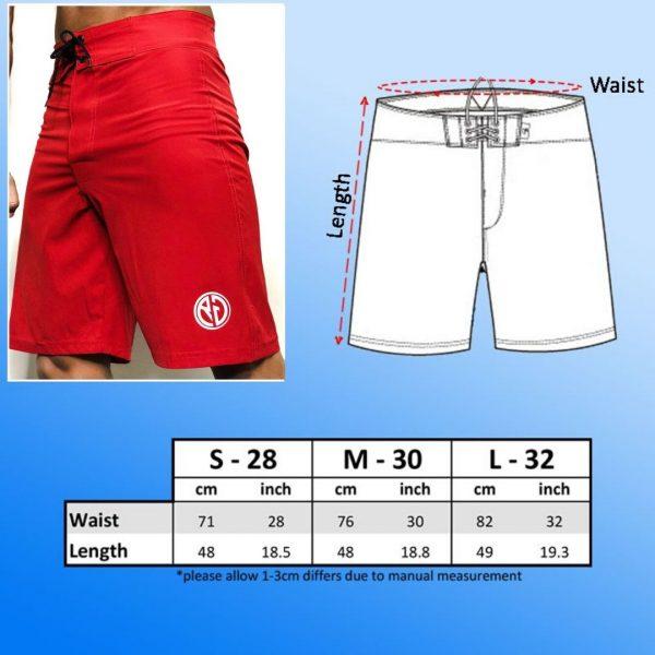 Resurrection Gear Red Board Shorts