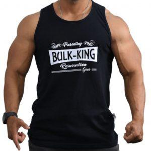 Resurrection Gear Bulk-King Black Tank Top Fitness Gym Apparel