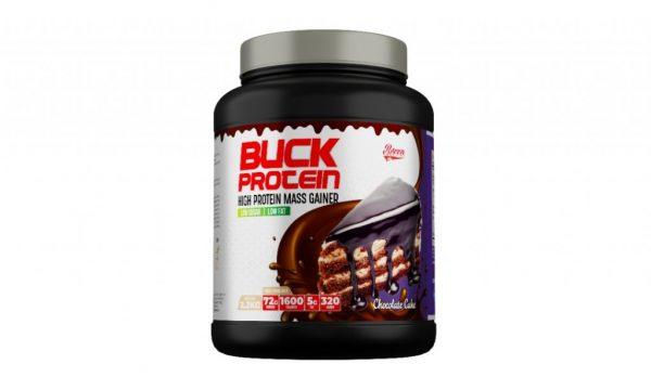 Berro Labs Buck Protein Mass Gainer (5lbs) 2.2kg - Halal Lulus KKM Weight Gainer Mass Protein, Fitness Gym Supplement