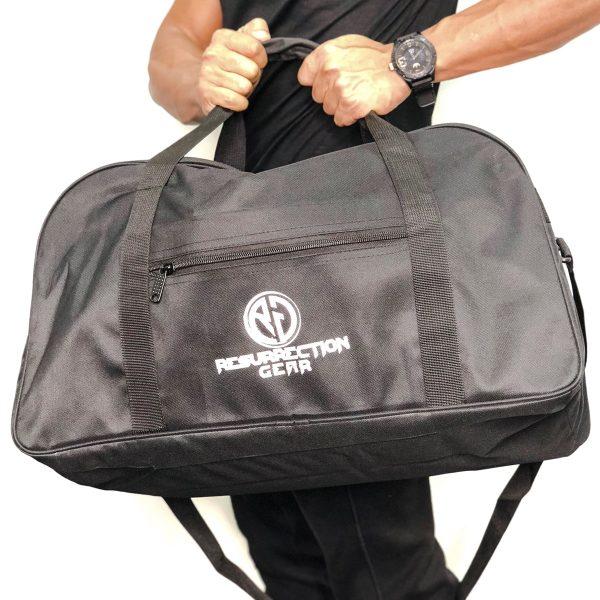 Resurrection Gear Large Duffel Gym Black Bag