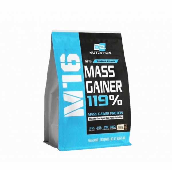 BS Nutrition M16 Mass Soldier X 5.4 kg, 180 scoops (Chocolate) Fitness Gym Supplement