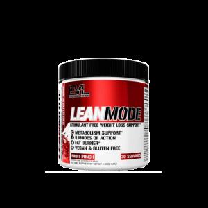 Evlution Nutrition Lean Mode Fat Burner (Fruit Punch) 153g, 30 Servings - Fat burner, Burn Fat (Halal certified) Fitness Gym Supplement